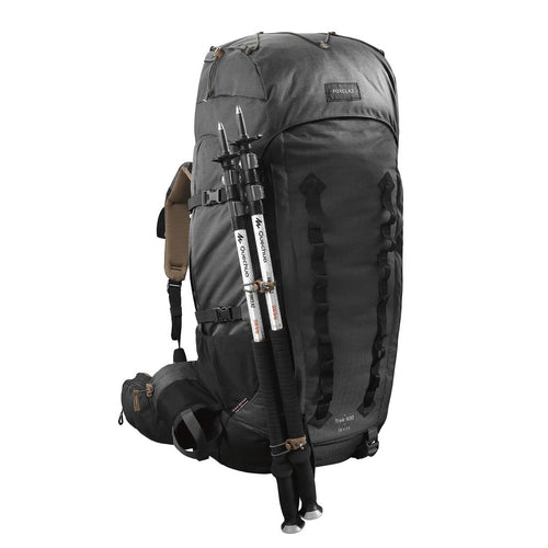 Men's mountain trekking rucksack | TREK 900 Symbium 70+10L - Dark Grey - Decathlon New Zealand