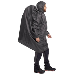 Hiking Rain Poncho Arpenaz 40L Size L/XL - Grey - Decathlon New Zealand