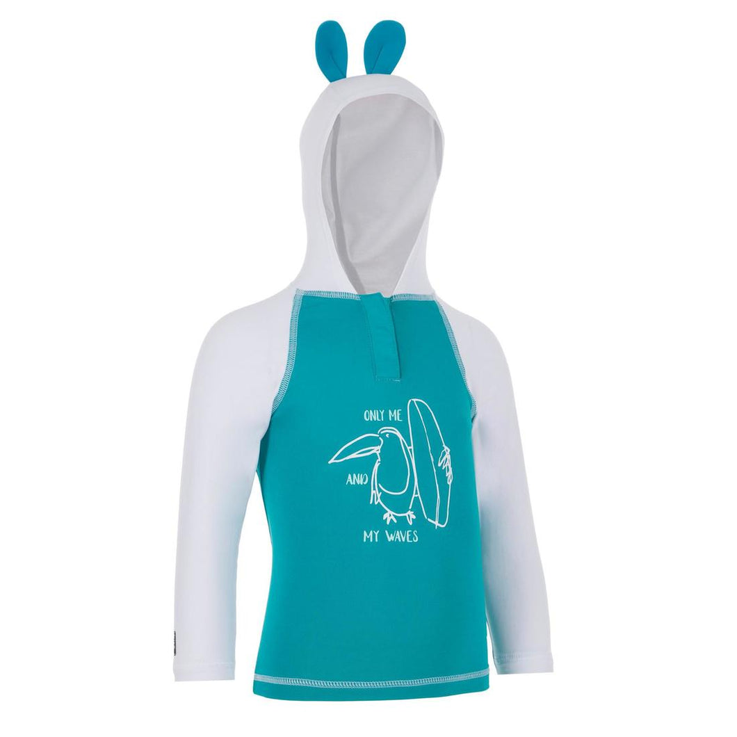 Baby Uv-Protection T-Shirt With Hood