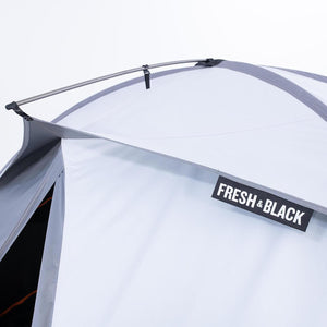 3 Seasons Dome Trekking 2 Person Tent - TREK 500 Fresh & Black - Grey Orange - Decathlon New Zealand