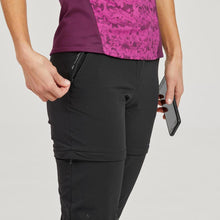 Load image into Gallery viewer, Women's convertible mountain hiking trousers - MH550 - Decathlon New Zealand