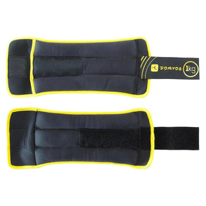 Tone SoftBell Adjustable Wrist and Ankle Weights Twin-Pack - 1 kg - Decathlon New Zealand