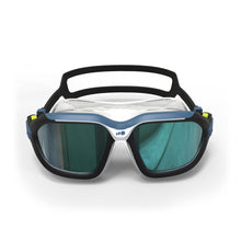 Load image into Gallery viewer, Active Asia Swimming Mask 500 L  Blue Smoke Lenses