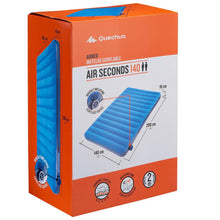 Load image into Gallery viewer, INFLATABLE CAMPING MATTRESS - AIR SECONDS 140 CM - 2 MAN - Decathlon New Zealand