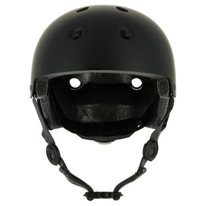 Play 5 Skateboard Scooter Skating Adjustable Helmet - Black - Decathlon New Zealand