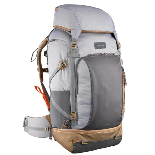 Women's 70 litre trekking rucksack TRAVEL 500 - Grey - Decathlon New Zealand
