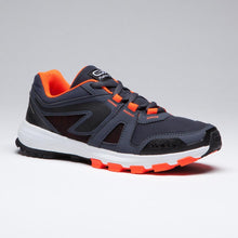 Load image into Gallery viewer, Kiprun Grip Kids' Running & Athletics Shoes   And Black Neon Orange