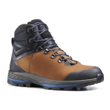 Load image into Gallery viewer, Men'S Mountain Trekking Flexible Leather Boots - Trek100 Leather