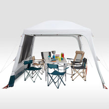 Load image into Gallery viewer, Hoop-supported camping living area - Arpenaz Base Fresh - 10-Person - Decathlon New Zealand