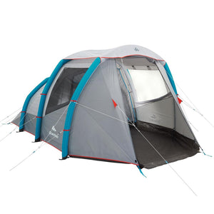 inflatable camping tent - Air Seconds 4.1 - 4 Person - 1 Room - Decathlon New Zealand