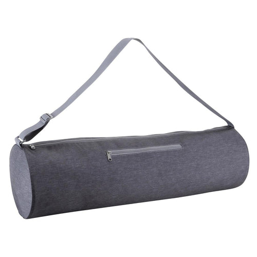 Yoga Mat Bag - Mottled Dark Grey - Decathlon New Zealand