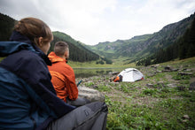 Load image into Gallery viewer, 3 Seasons Dome Trekking 2 Person Tent - TREK 500 Fresh & Black - Grey Orange - Decathlon New Zealand