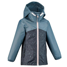 Load image into Gallery viewer, Kids' waterproof hiking jacket MH150 - Blue/Grey - Decathlon New Zealand