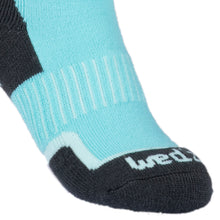 Load image into Gallery viewer, Children's Ski Socks - Turquoise