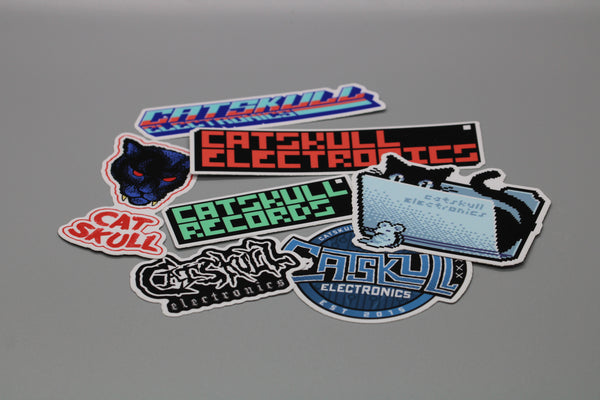 Catskull Electronics Sticker Pack