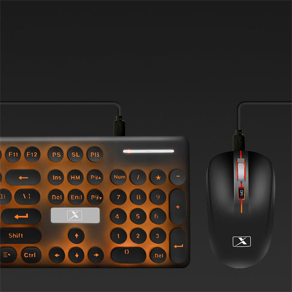 Wireless Magma Keyboard and Mouse
