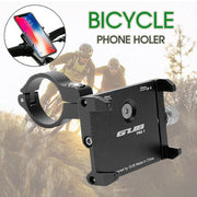 Mobile 360° Rotation Phone Holder Mount Alloy for Motorcycle Bicycle Bike - E-ozzie Electric Vehicles