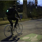 LED Smart Backpack | EOzzie Safe Riding - E-ozzie Electric Vehicles
