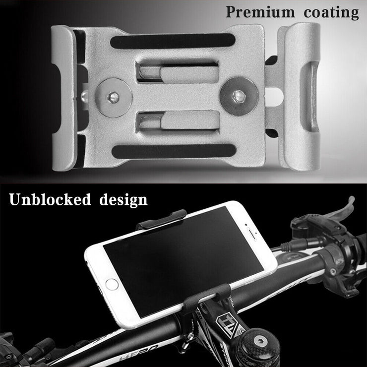 360° Rotation Mobile Phone Holder Handlebar Mount for Motorcycle Bicycle Bike - E-ozzie Electric Vehicles