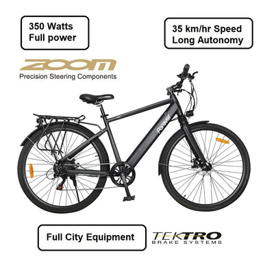"29"" City Electric Bike 