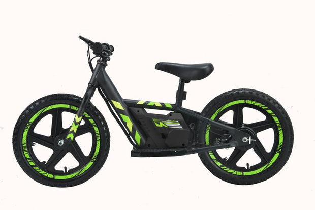Kids First Electric Dirt Bike 16 Inch| RFX | Enduro kid motorcycle | 3-6 Years old | portable battery | - E-ozzie Electric Vehicles