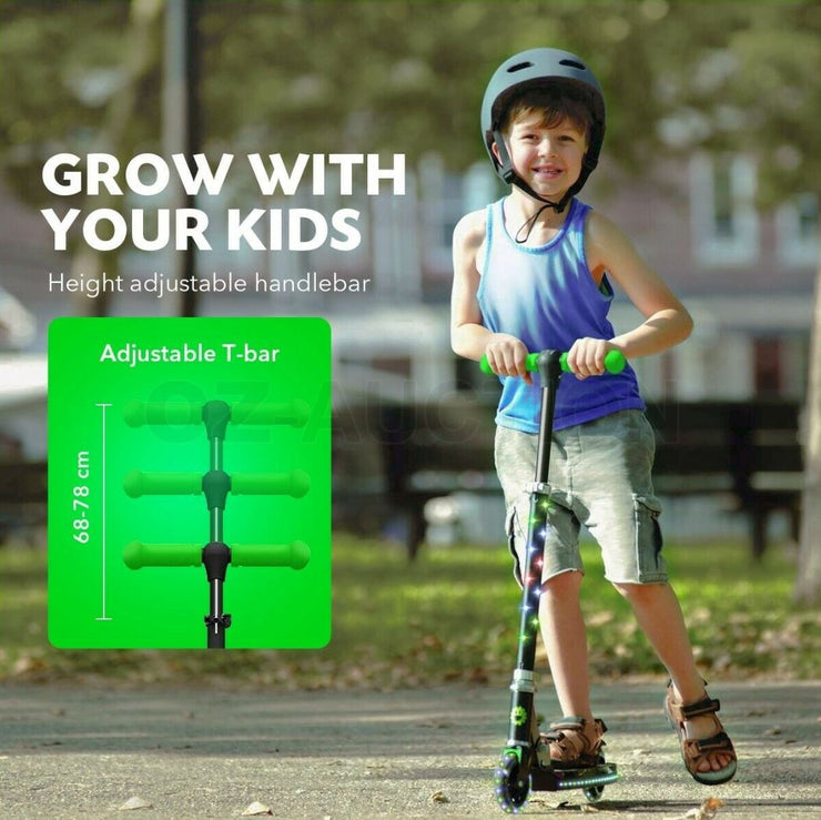 Kick Electric Scooter for Kids | EOzzie Ligth Up - E-ozzie Electric Vehicles