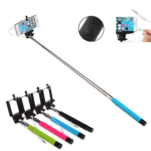 FREE Extendable Handheld Selfie Stick  For Android IOS Phone