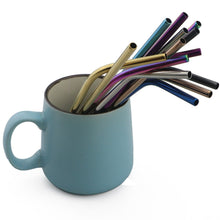 Load image into Gallery viewer, Reusable Metal Drinking Straw