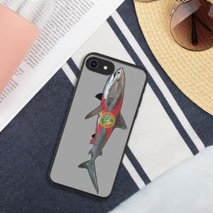 Tiger Shark Biodegradable phone case