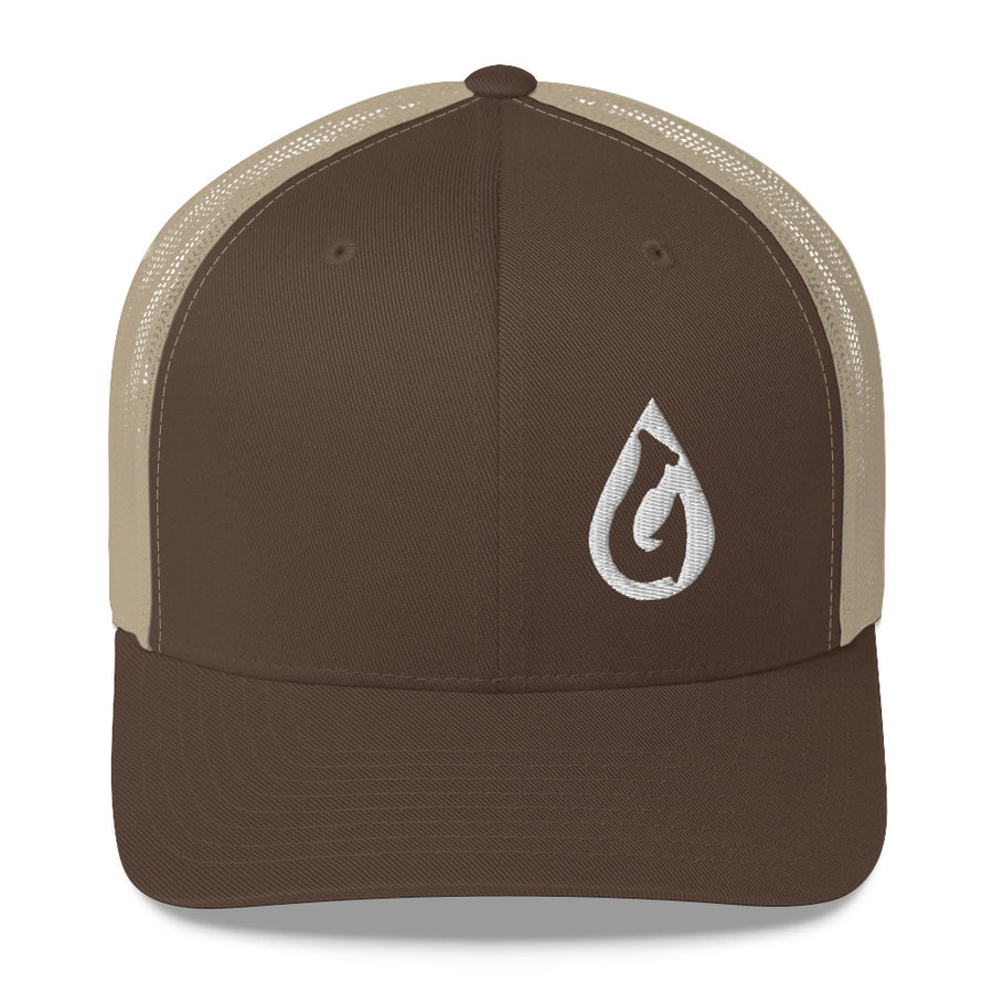 Drop Hook Coastal Addiction Trucker Cap