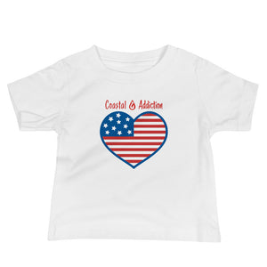 BABY CA HEARTS AND STRIPES T-SHIRT