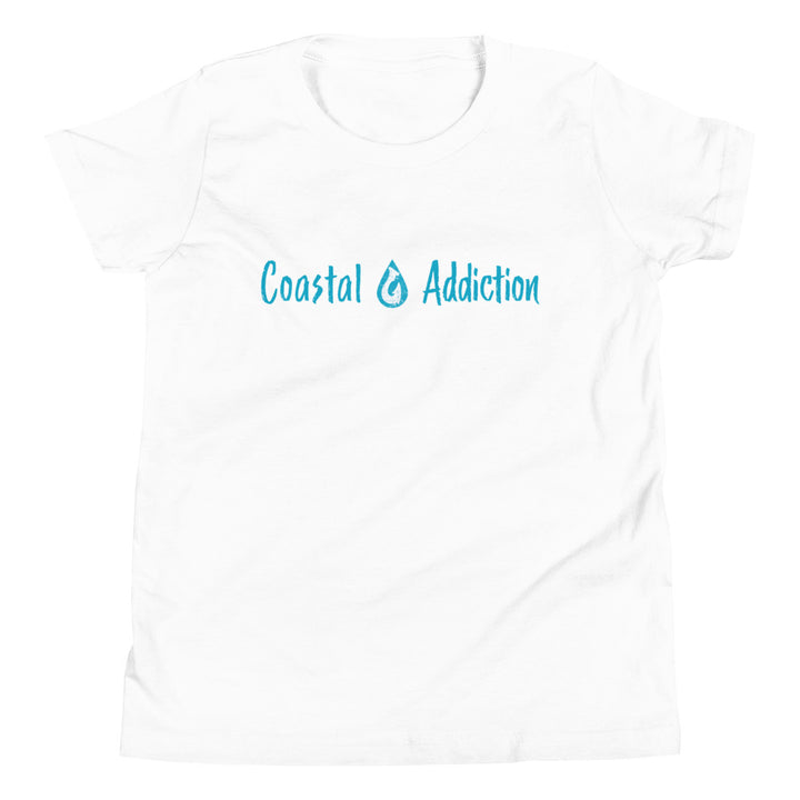 YOUTH COASTAL ADDICTION LOGO T-SHIRT