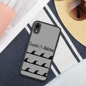 Coastal Addiction Biodegradable phone case