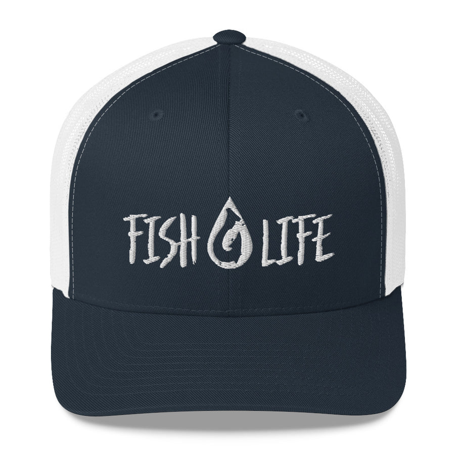 Fish Life Trucker Cap