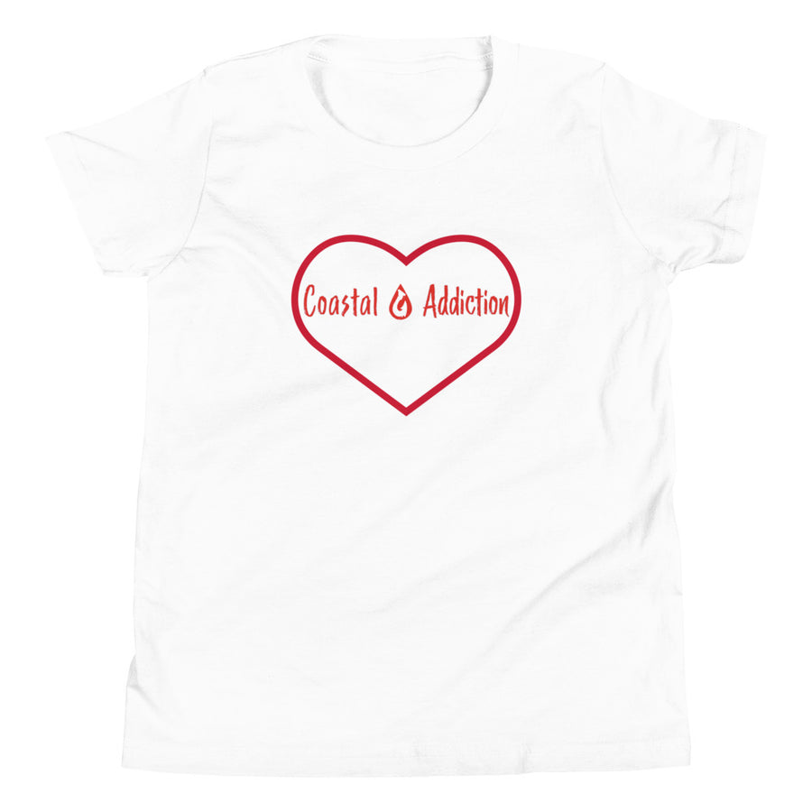 YOUTH COASTAL ADDICTION LOVE T-SHIRT