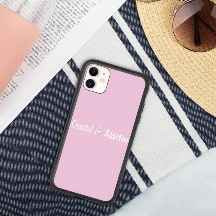 Pink Life Biodegradable phone case
