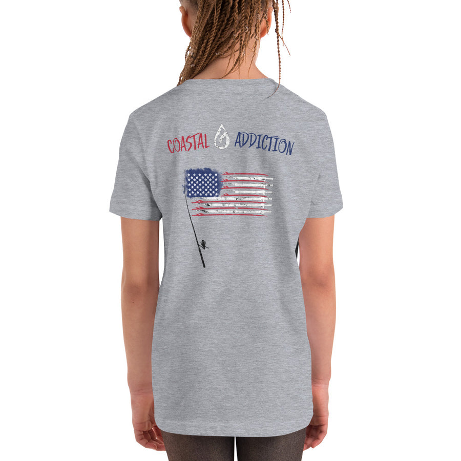 YOUTH USA SURF FISH DIVE T-SHIRT