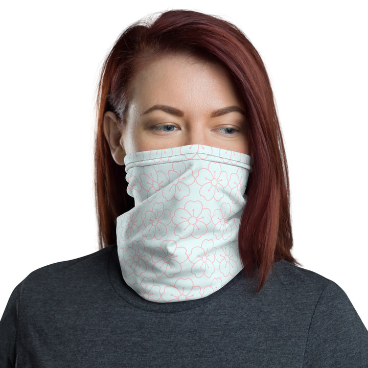Ladies Hibiscus Neck Gaiter