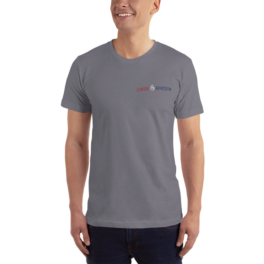 COASTAL ADDICTION USA SURF DIVE FISH T-SHIRT