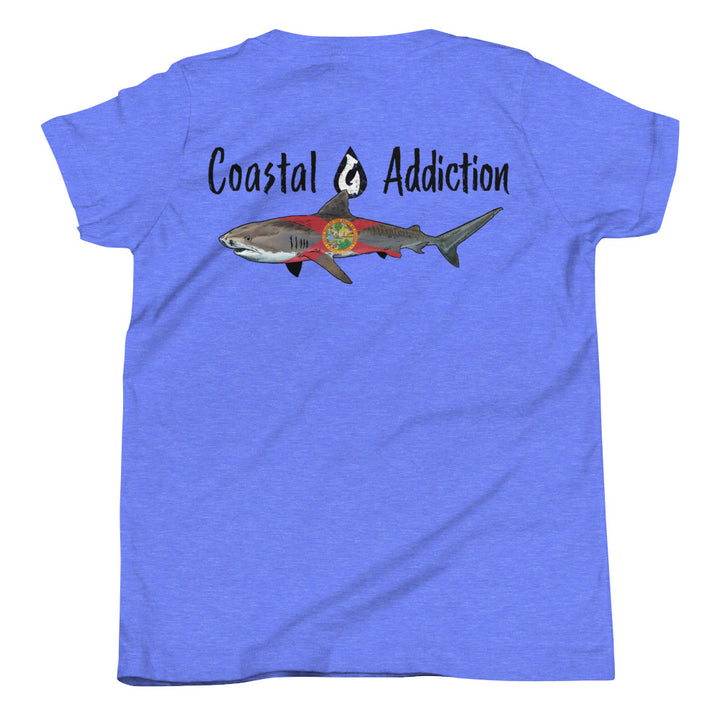 YOUTH COASTAL TIGER SHARK T-SHIRT