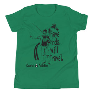 YOUTH HAVE RODS T-SHIRT