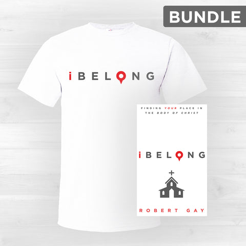 iBelong Shirt and Book Bundle