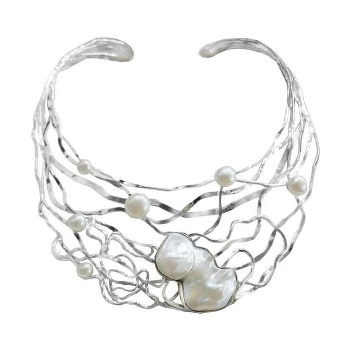 Large Baroque With Freshwater Pearl Choker