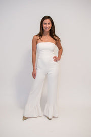 The White Sand Beach Jumpsuit