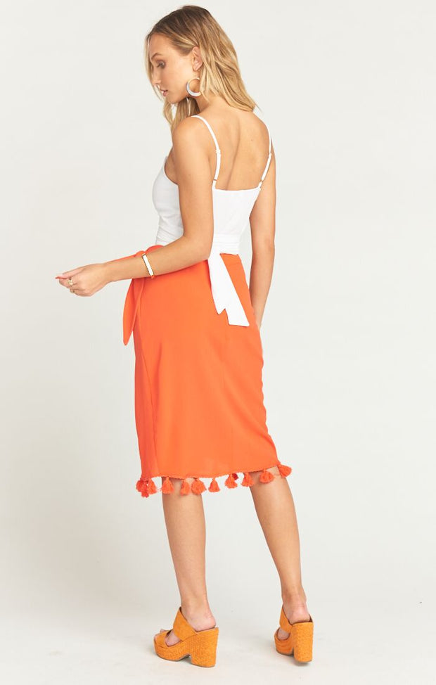 Anjolie Bellini Wrap Skirt by Show Me Your Mumu | FINAL SALE
