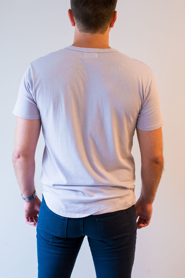 The Curved Tee by Rustic Dime