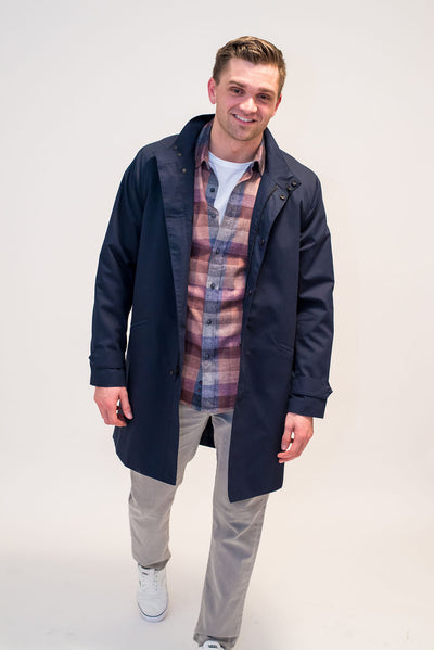 Make it Rain Trench by Raleigh Denim