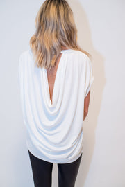 Day-to-Night Drape Crew Neck by Sen | FINAL SALE