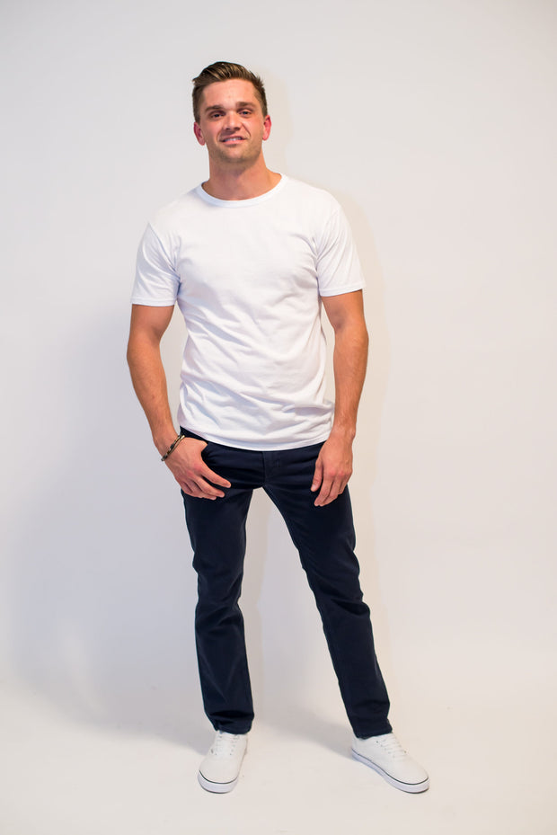 The Straight Tee by Rustic Dime - Still Available in White
