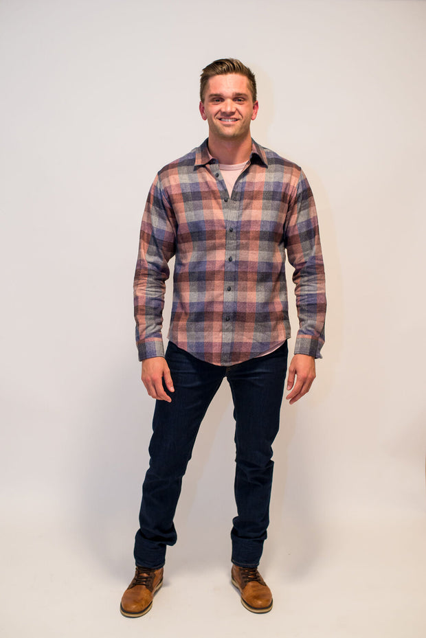 Into the Woods Plaid by Raleigh Denim